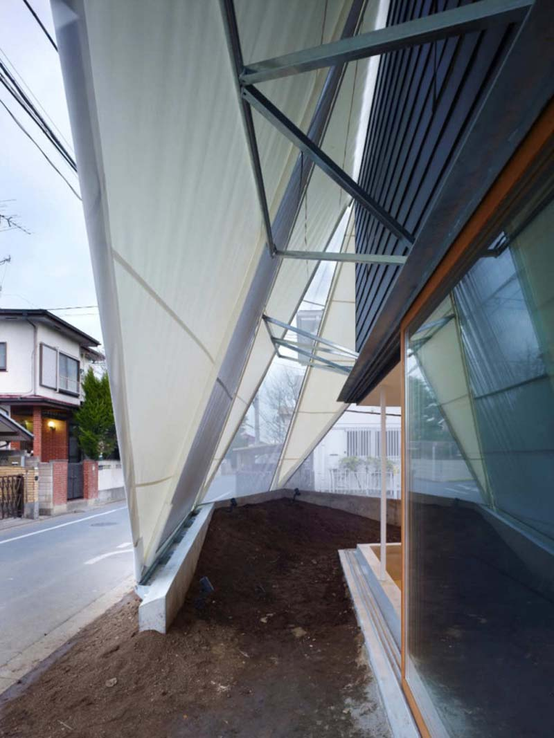 House in Kodaira by Suppose Design Office 15