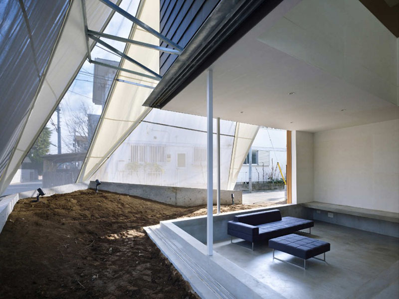 House in Kodaira by Suppose Design Office 4