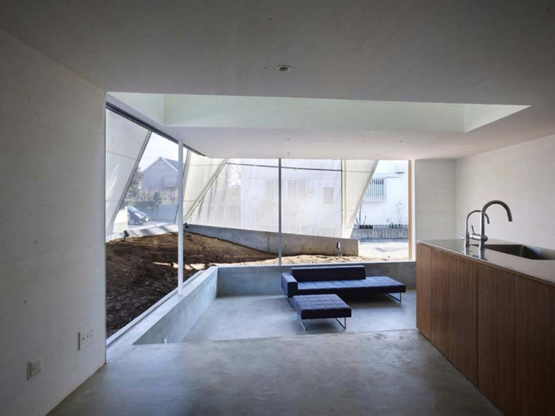 House in Kodaira by Suppose Design Office 6