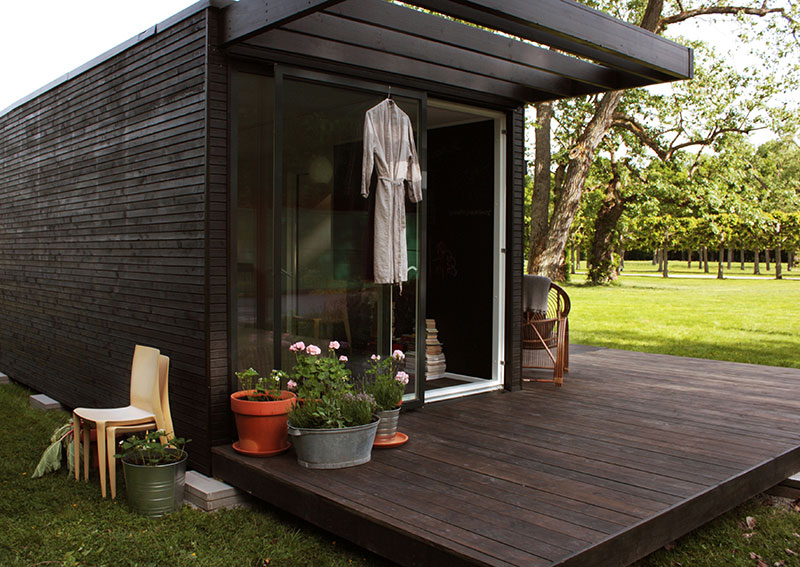 ONE+ modular mini house by add a room 3