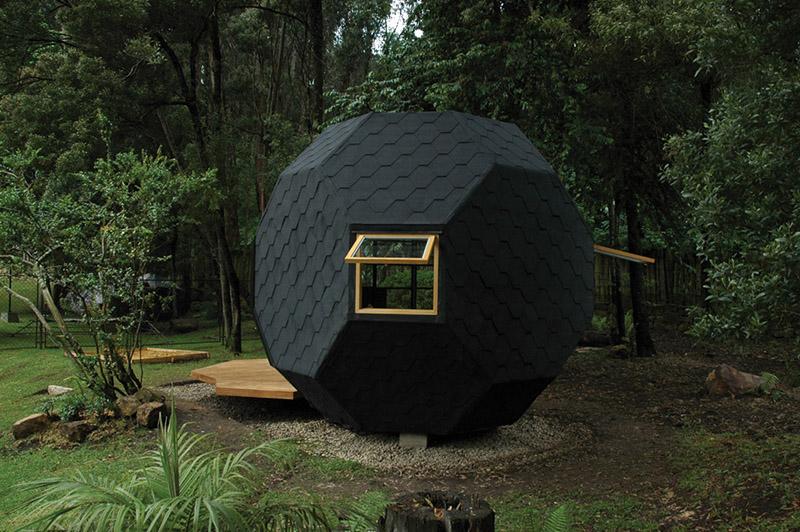 Polyhedron Habitable by Manuel Villa Architecture 1
