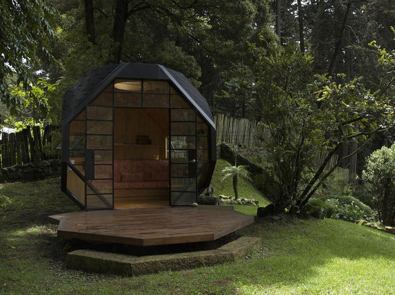 Polyhedron Habitable by Manuel Villa Architecture 2