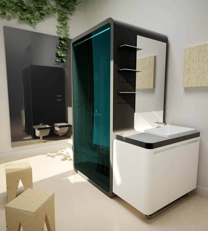 Aquabox bathroom system 2