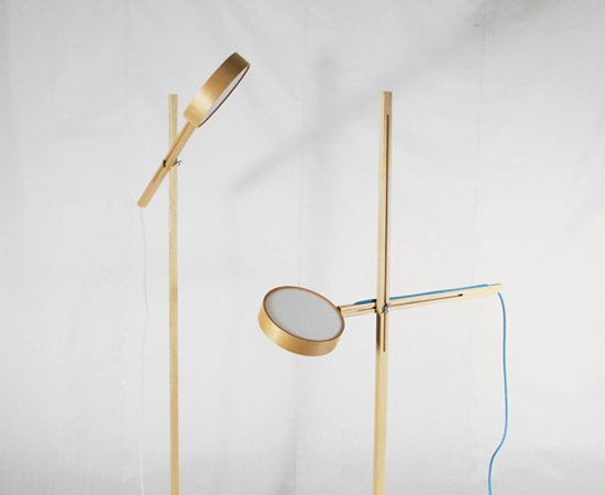 Axis Floor Lamp by Bao-Nghi Droste Design 3