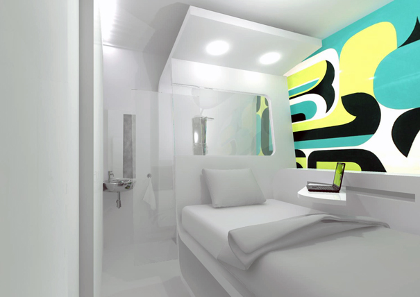 Dream and Fly Micro Hotel Concept 4