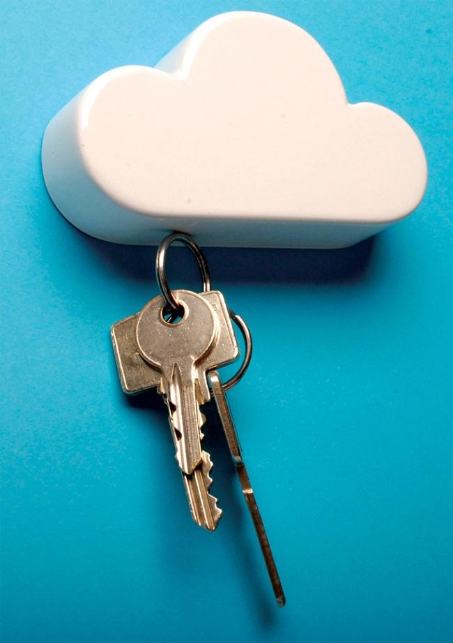 Cloud Magnetic Keyholder by Duncan Shotton 2