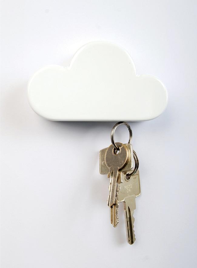 Cloud Magnetic Keyholder by Duncan Shotton 3