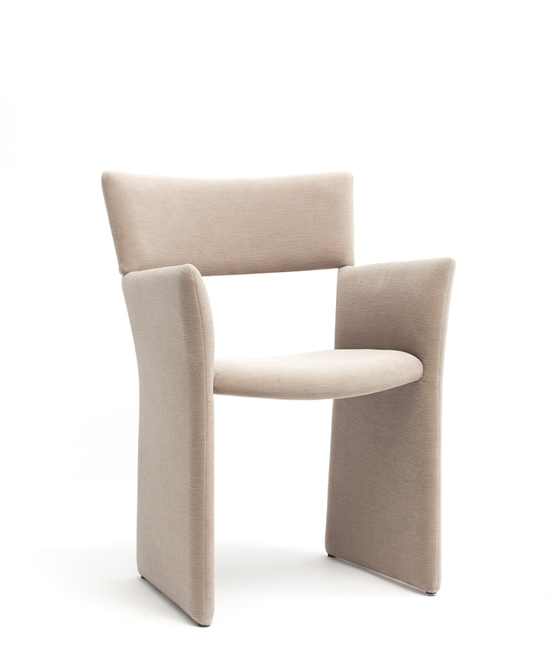 Crown Upholstered Armchair by Massproductions 3