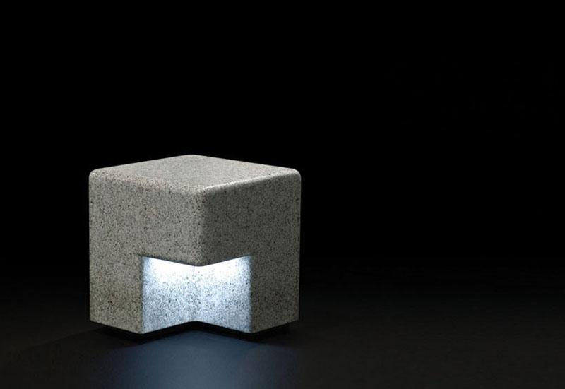 Cube Outdoor Bench by Kim Hyunjoo 1