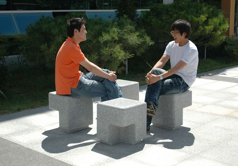Cube Outdoor Bench by Kim Hyunjoo 3