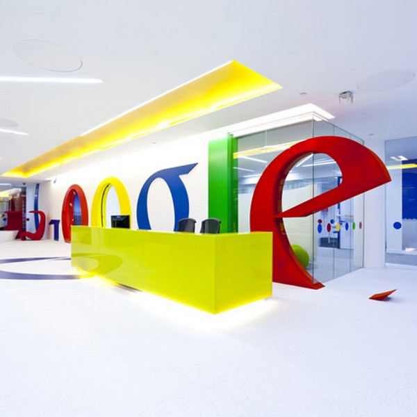 Google London Office Interior design by Scott Brownrigg 1