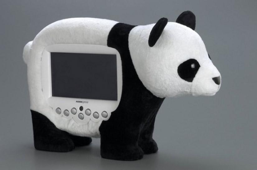 HANNSpree Novelty LCD TV Panda