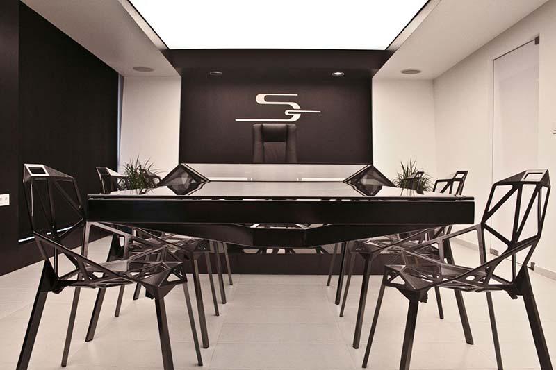 Hybrid office desk and conference table by Jovo Bozhinovski 6