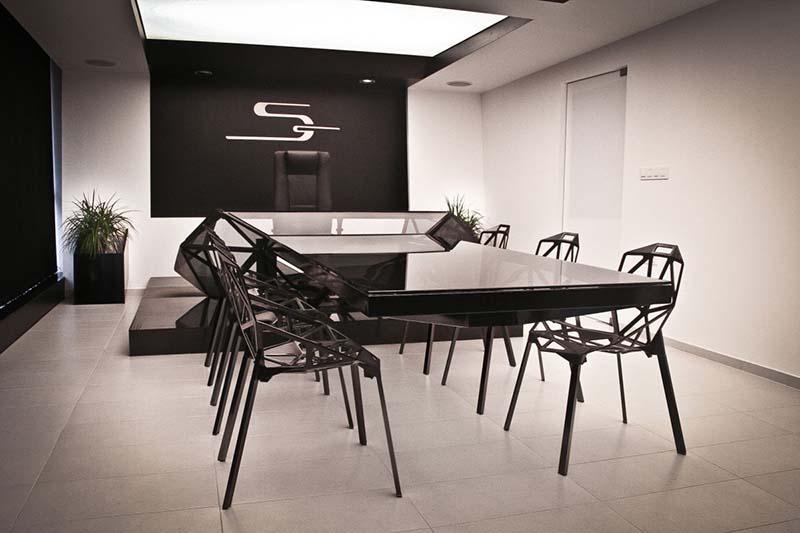 Hybrid office desk and conference table by Jovo Bozhinovski 9
