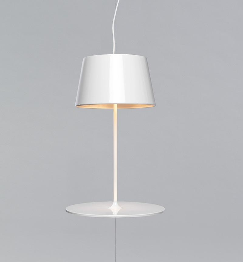 Illusion Hanging Lamp cum Table by Hareide Design 2