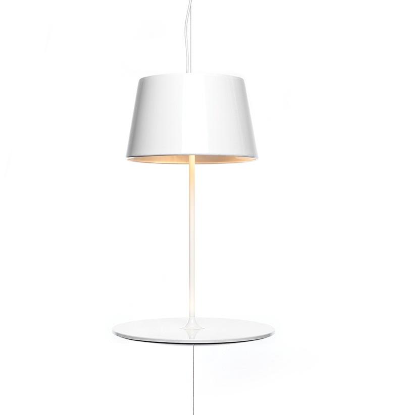 Illusion Hanging Lamp cum Table by Hareide Design 3