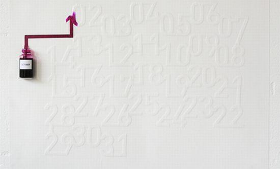 Ink Calendar By Oscar Diaz 3