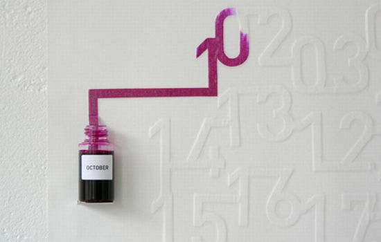 Ink Calendar By Oscar Diaz 4