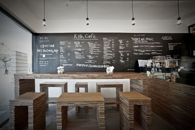 Kith Cafe Interiors by Hjgher 2