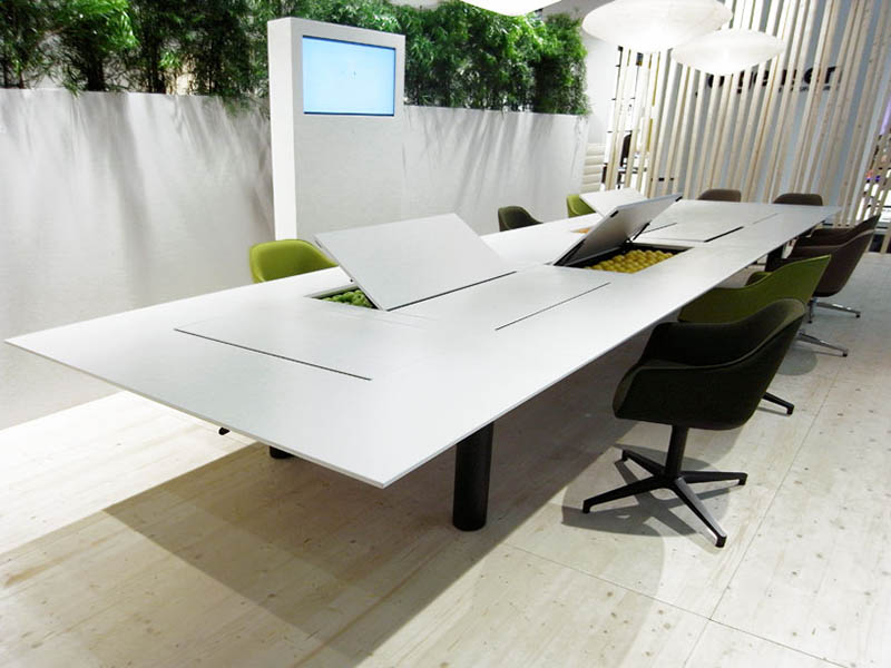 Kuubo office Table by Naoto Fukasawa for Vitra 1