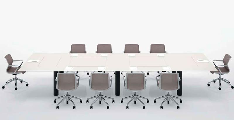Kuubo office Table by Naoto Fukasawa for Vitra 6