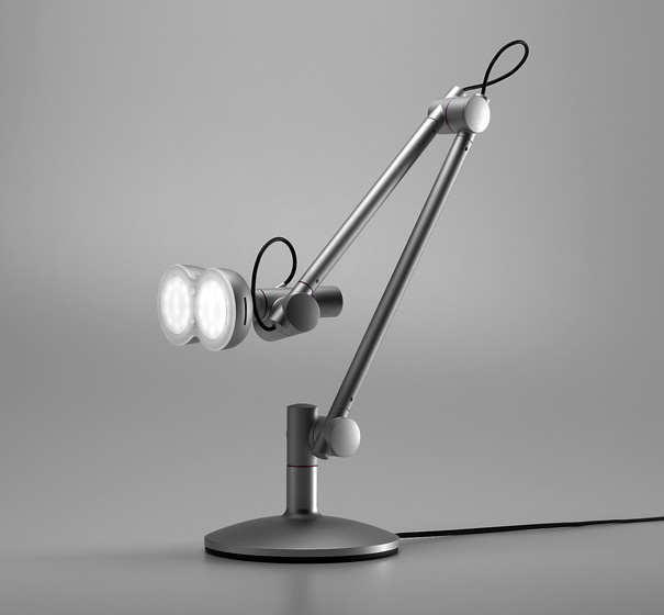 Unique LOBOT desk lamp
