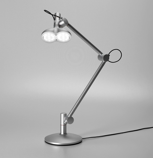 Lobot desk lamp by Studio Lobot