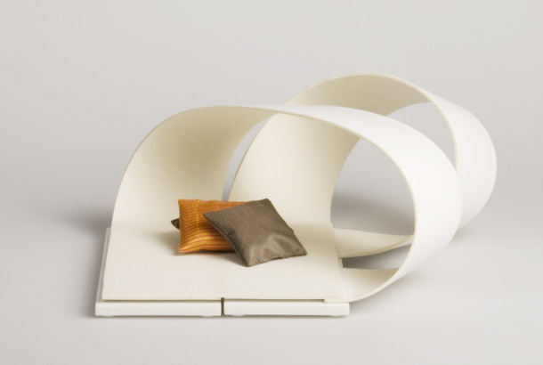La Bande Flexible furniture system by Sarah Lovgren 1