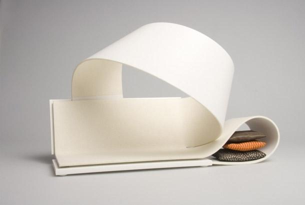 La Bande Flexible furniture system by Sarah Lovgren 2