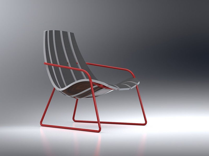 Lounger Chair by Bram Sawatazky 1