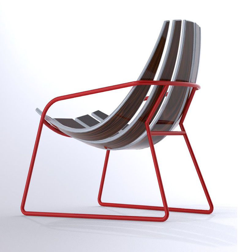 Lounger Chair by Bram Sawatazky 3