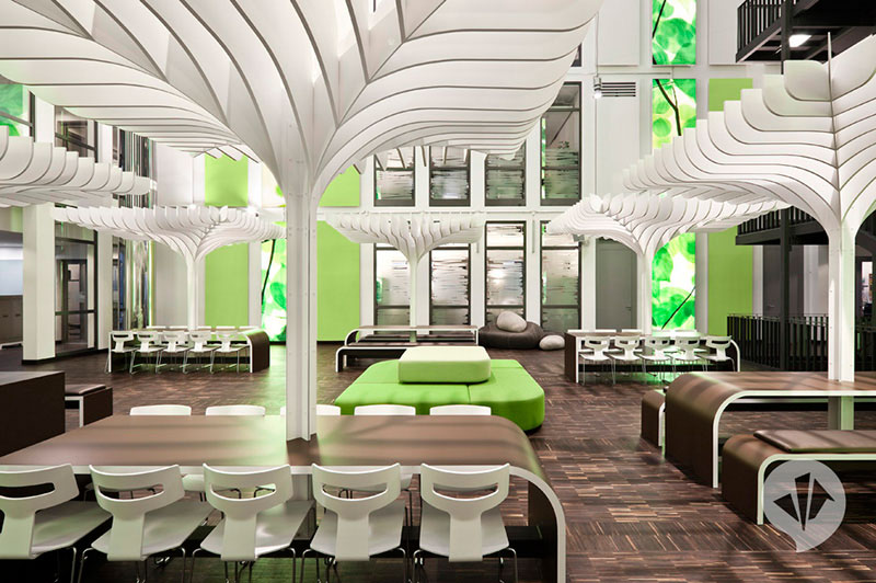 MTV Networks Headquarters Berlin Interiors by Dan Pearlman 2