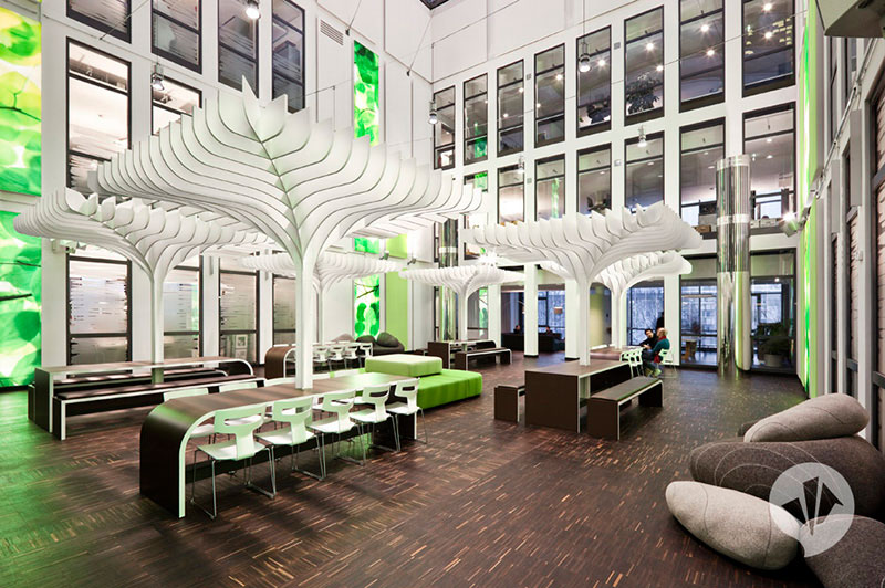 MTV Networks Headquarters Berlin Interiors by Dan Pearlman 3