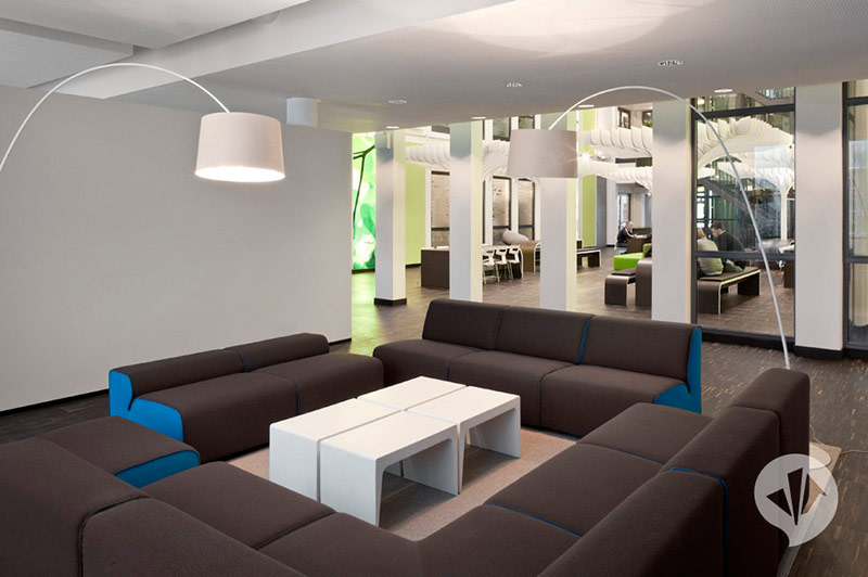 MTV Networks Headquarters Berlin Interiors by Dan Pearlman 9
