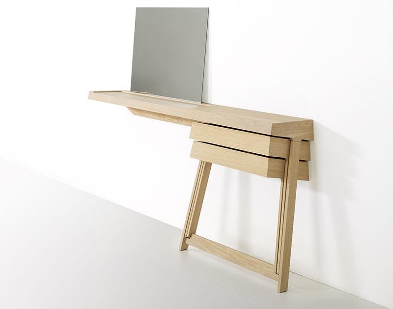 Pivot Desk And Pivot Vanity by Shay Alkalay 11