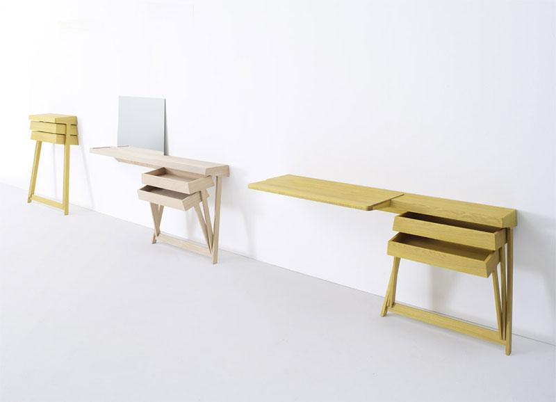Pivot Desk And Pivot Vanity by Shay Alkalay 12