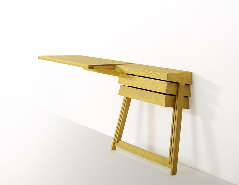 Pivot Desk And Pivot Vanity by Shay Alkalay 6