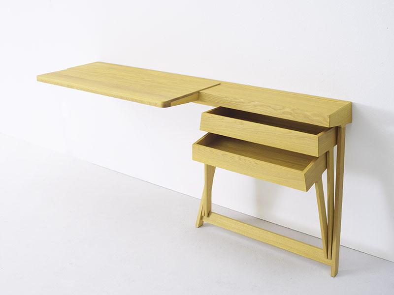 Pivot Desk And Pivot Vanity by Shay Alkalay 7