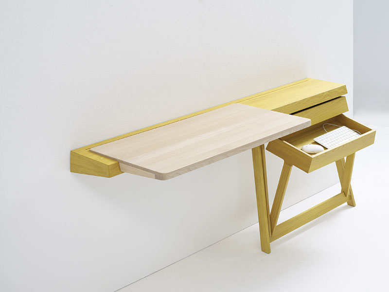 Pivot Desk And Pivot Vanity by Shay Alkalay 9