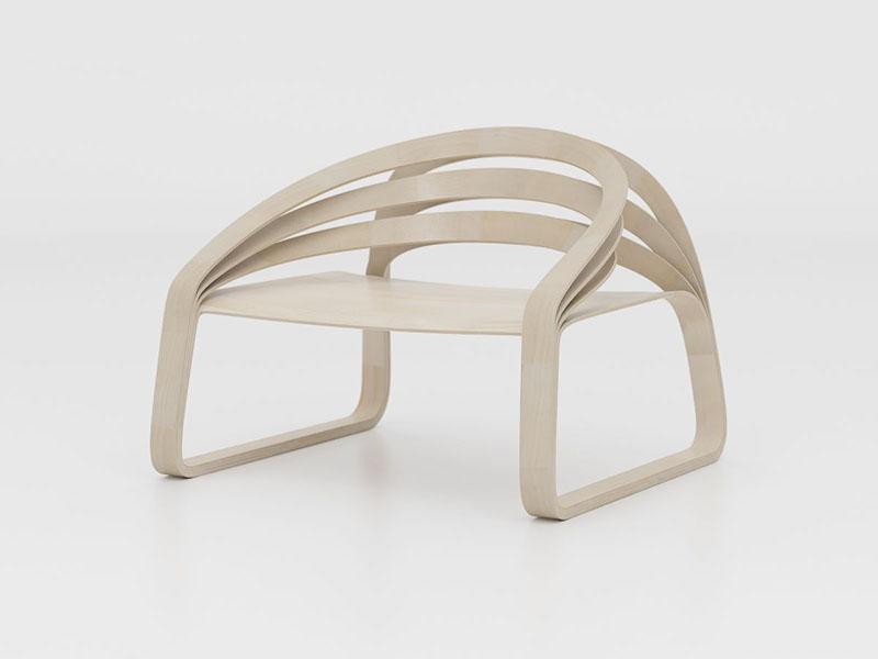 Plooop Chair by Timothy Schreiber 1