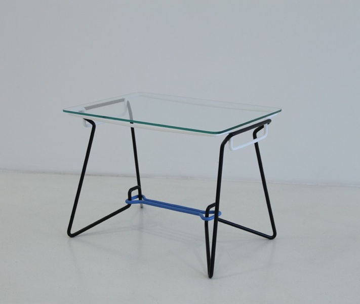 SP-7 bent wire frame coffee table 3