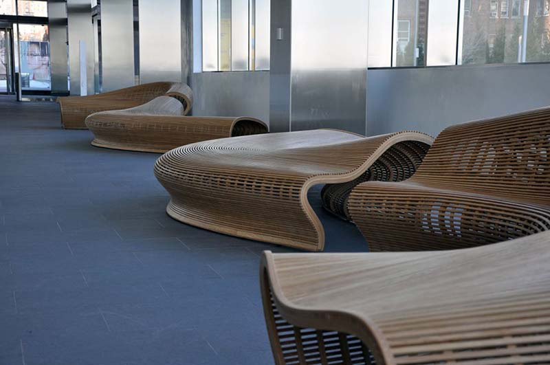Spill Bench Seating by Matthias Pliessnig 5