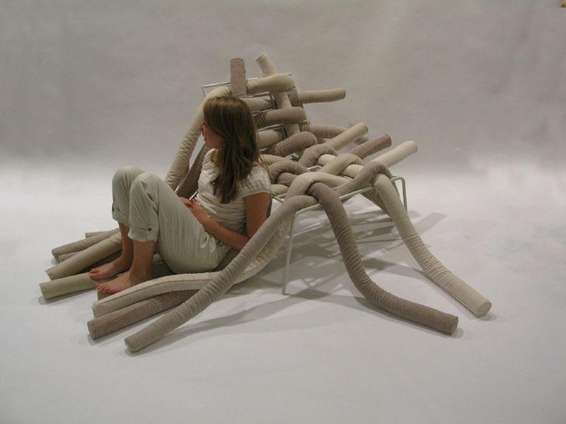 TubeME chair design by Ellinor Ericsson 1