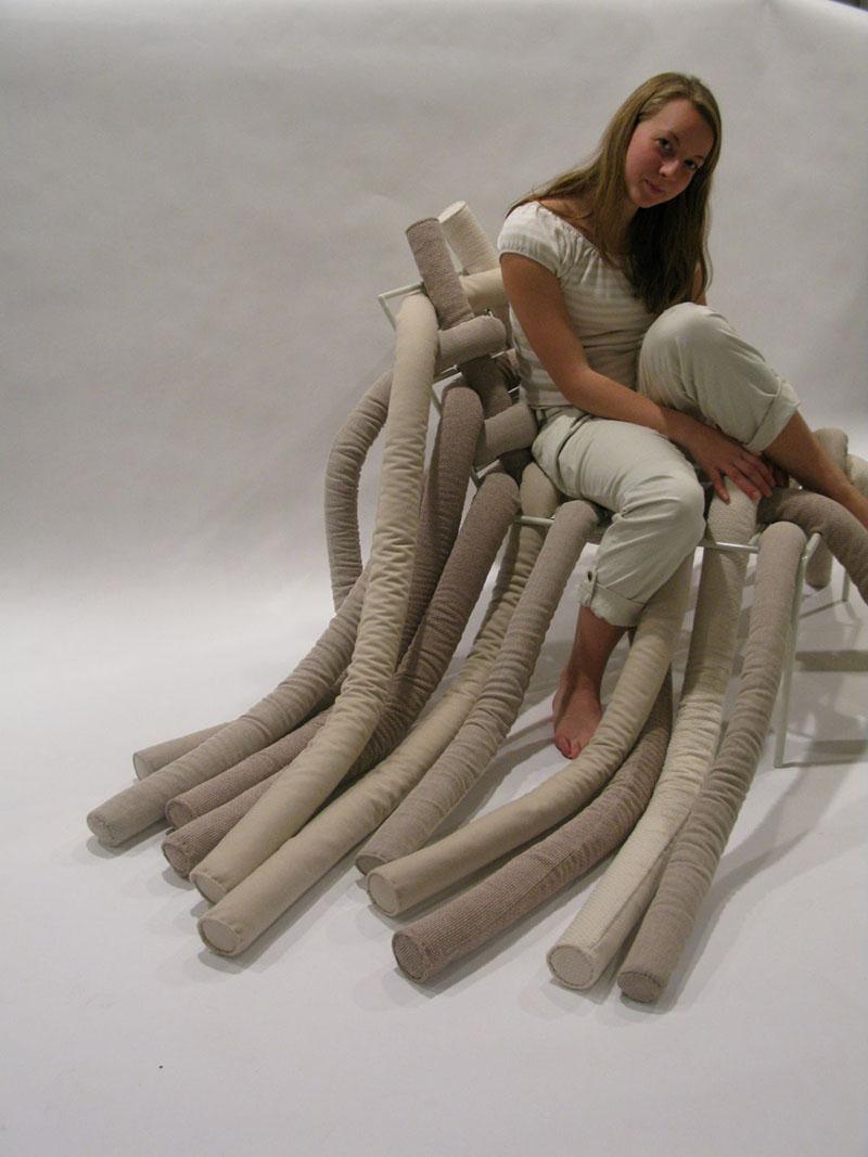 TubeME chair design by Ellinor Ericsson 3