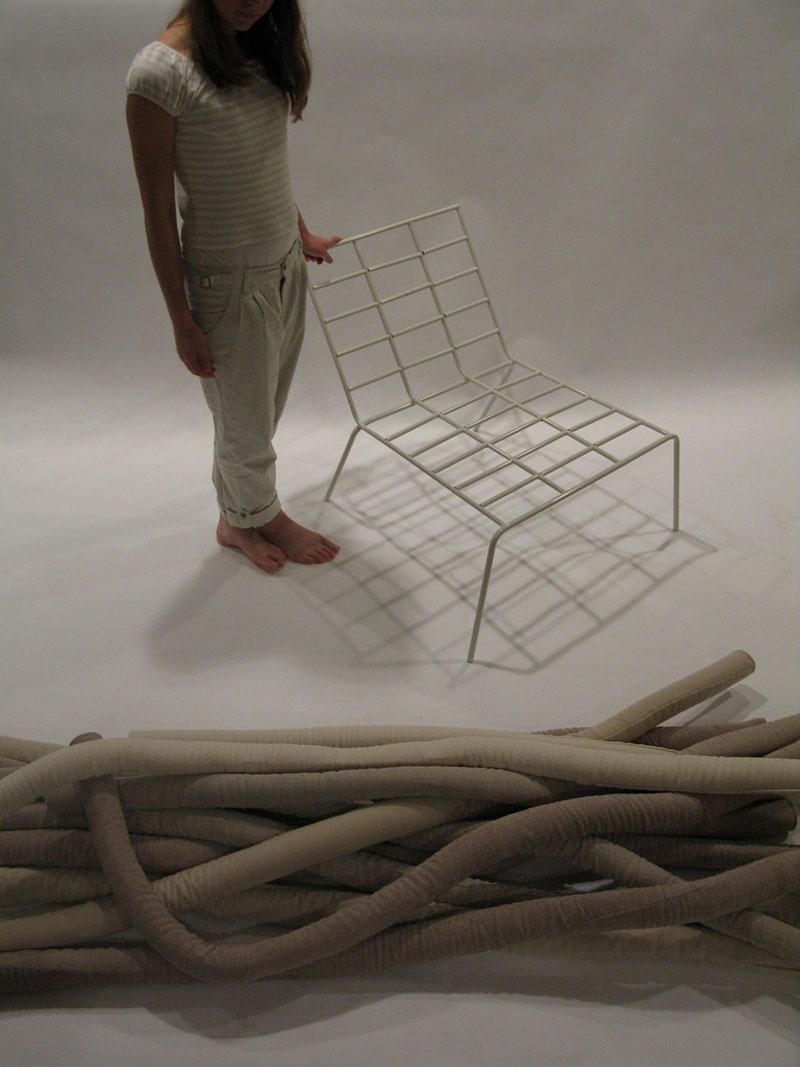 TubeME chair design by Ellinor Ericsson 5
