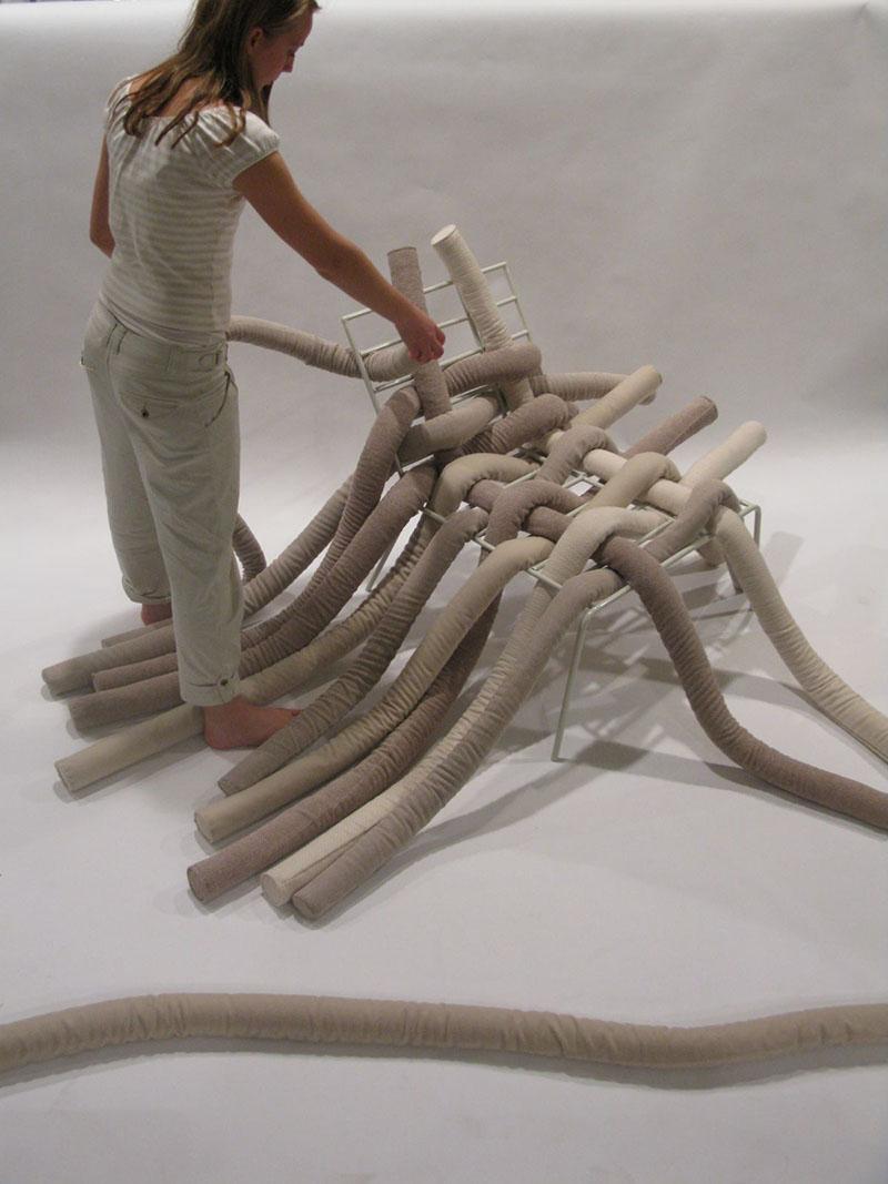 TubeME chair design by Ellinor Ericsson 6