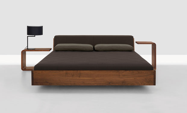 Fusion Solid Wood Bed by Zeitraum 3