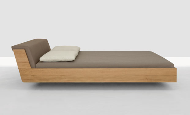 Fusion Solid Wood Bed by Zeitraum 6