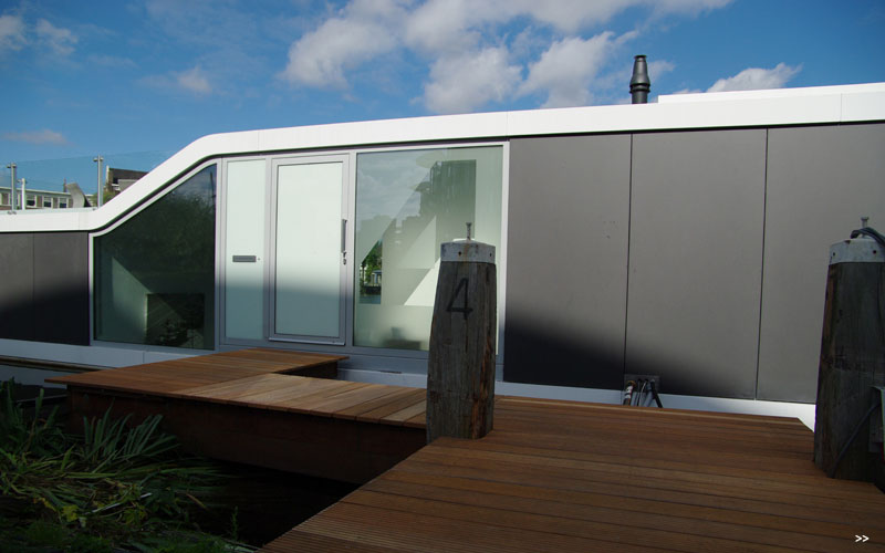 Watervilla De Omval Houseboat by Plus31 Architects 3