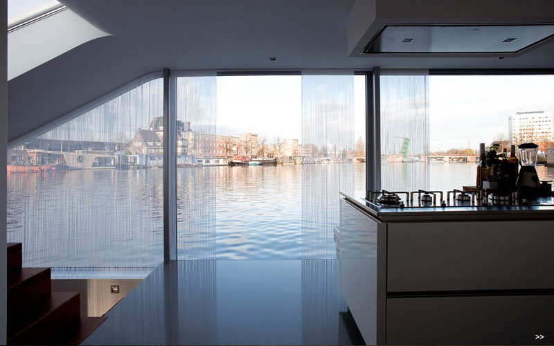 Watervilla De Omval Houseboat by Plus31 Architects 5